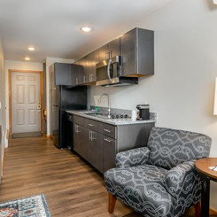 Mountain View Building -- Two Bedroom Condo