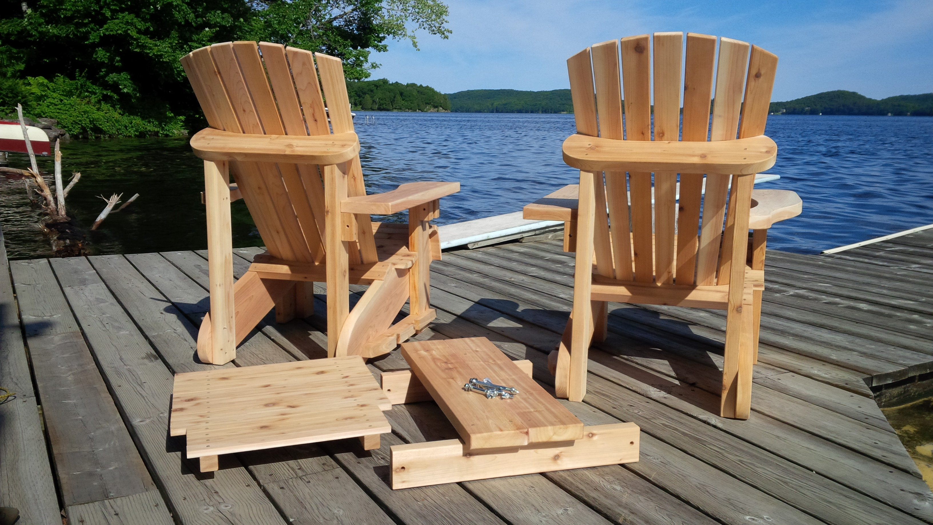 Parallel Muskoka Chair/Table Combo