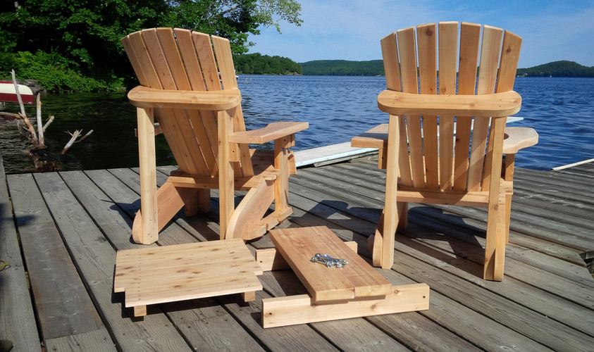 Muskoka Chairs with Table