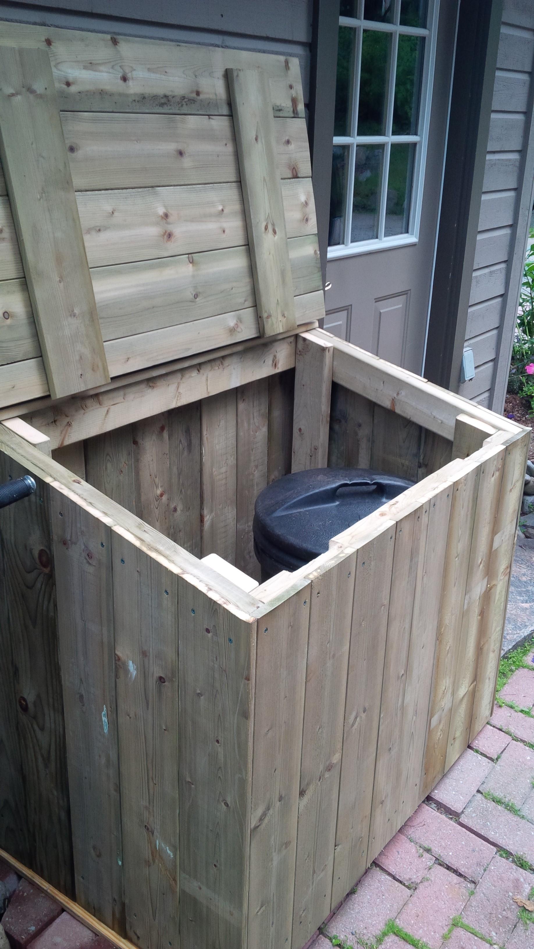 Mom's new Garbage Bin