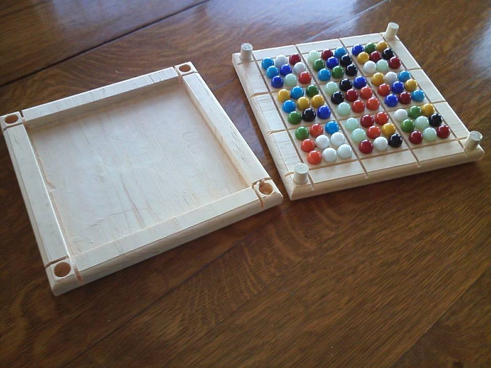 Sudoku Board with Lid