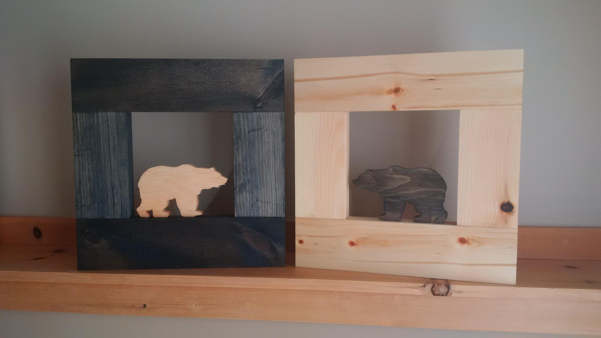Pine Artwork: Bears