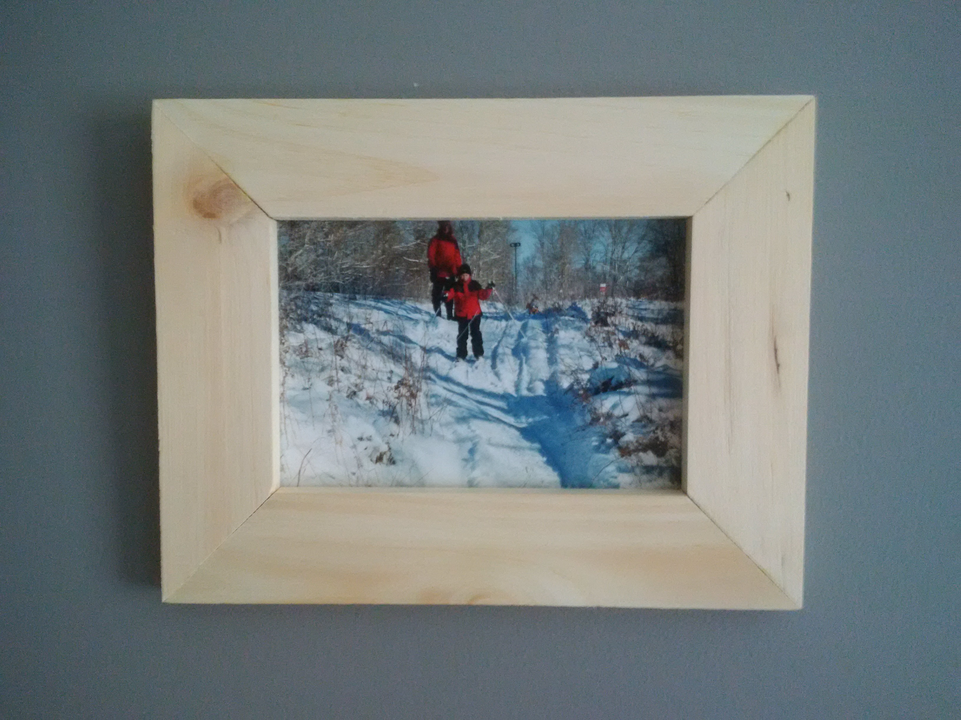 Pine Picture Frame