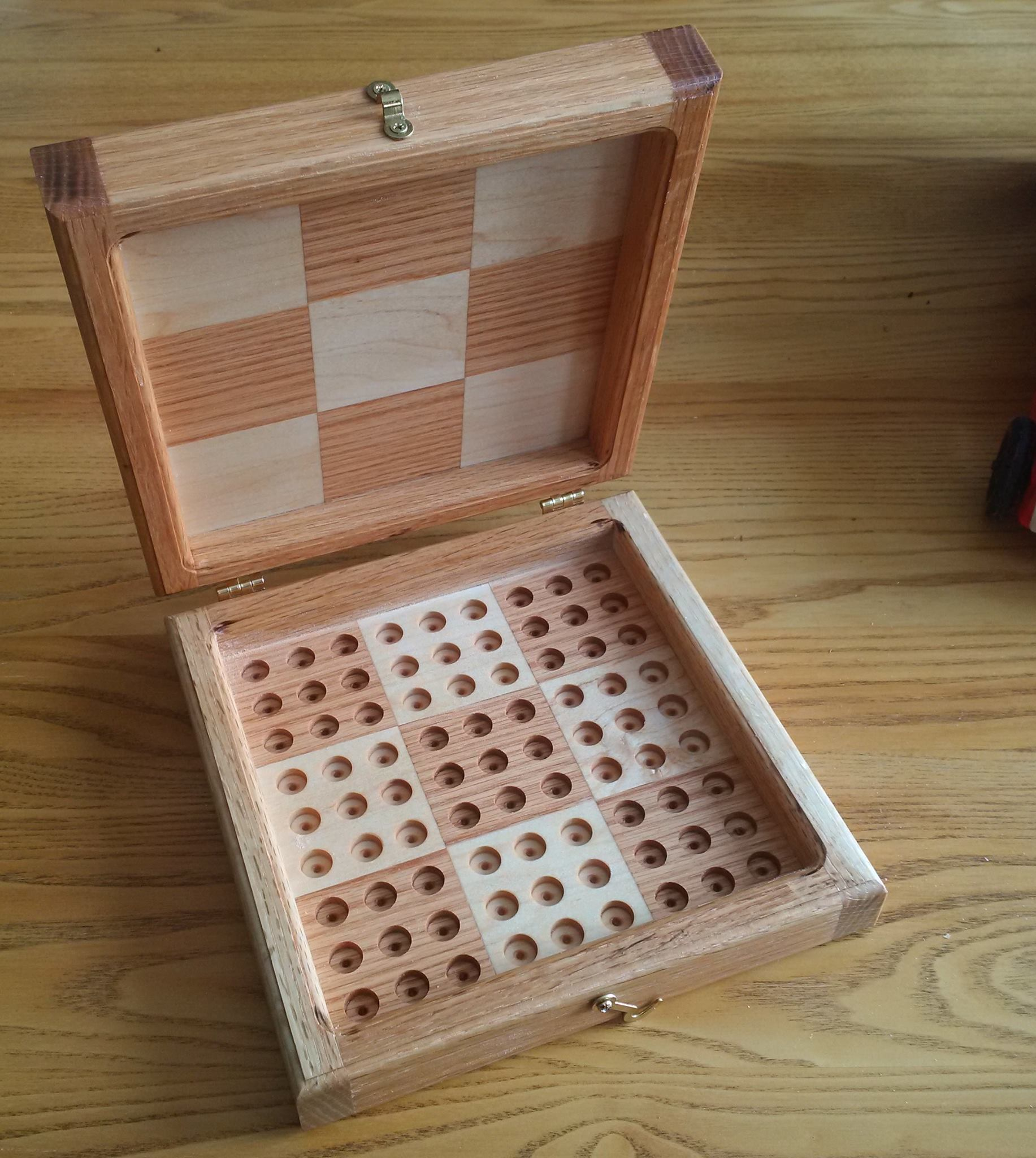 Hinged Sudoku Boards