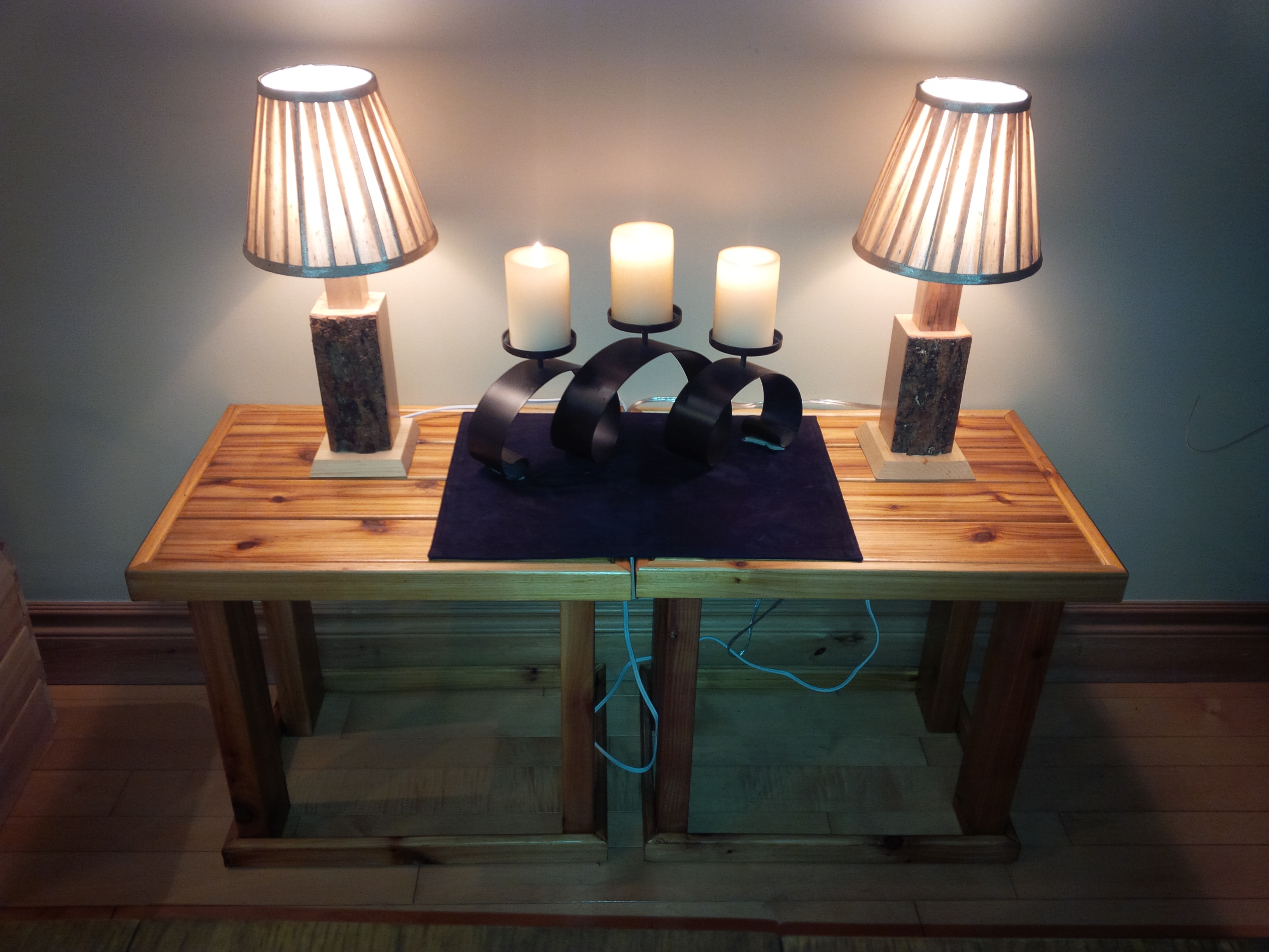 Lamps and Tables