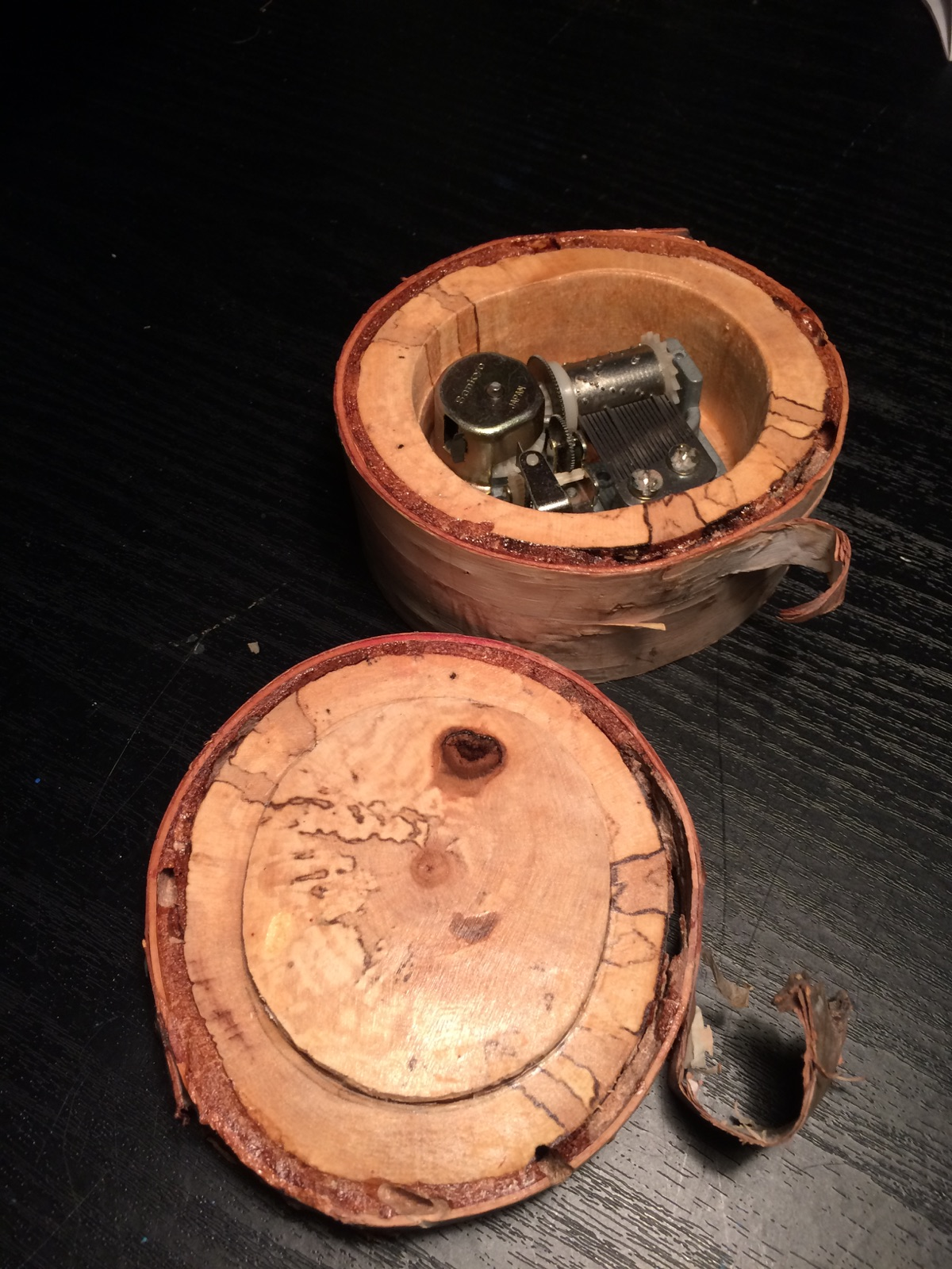 A new life for an old music box
