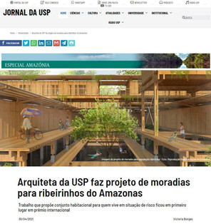 Entrevista para o Jornal da USP