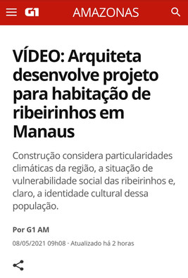 Entrevista para G1- Portal de notícias da Globo