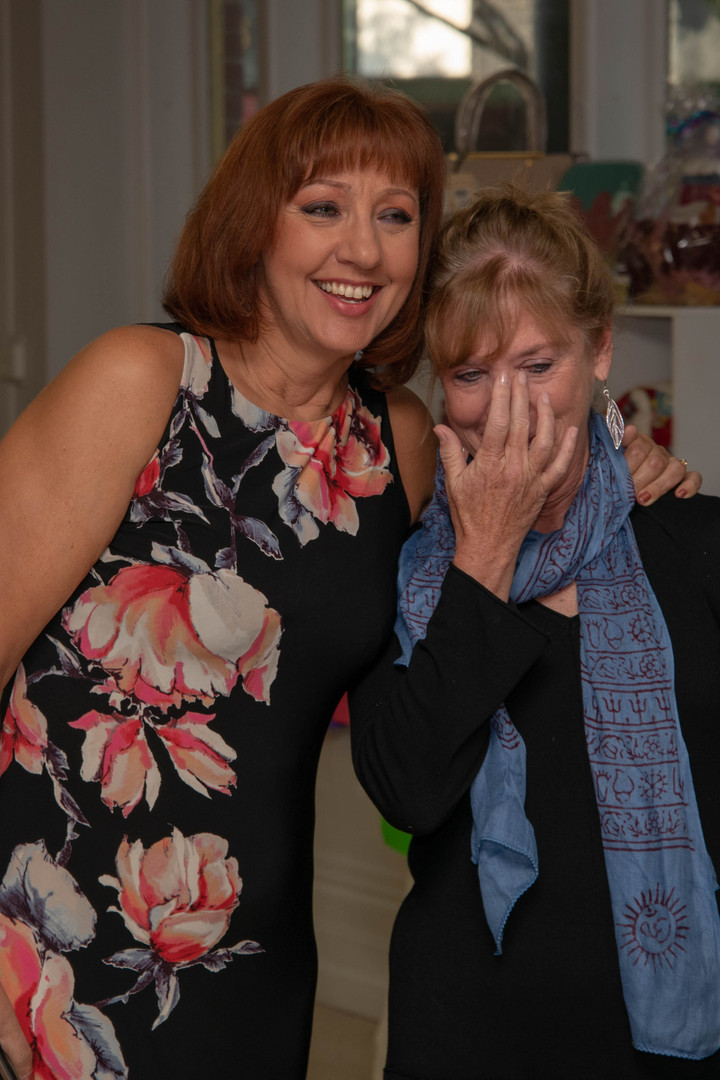 Teresa and Joanne share an emotional moment