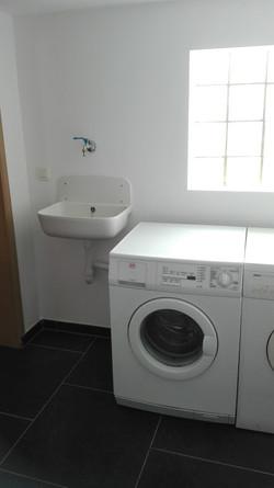 La machine à laver et le séchoir
