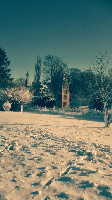 chateau neige vieux