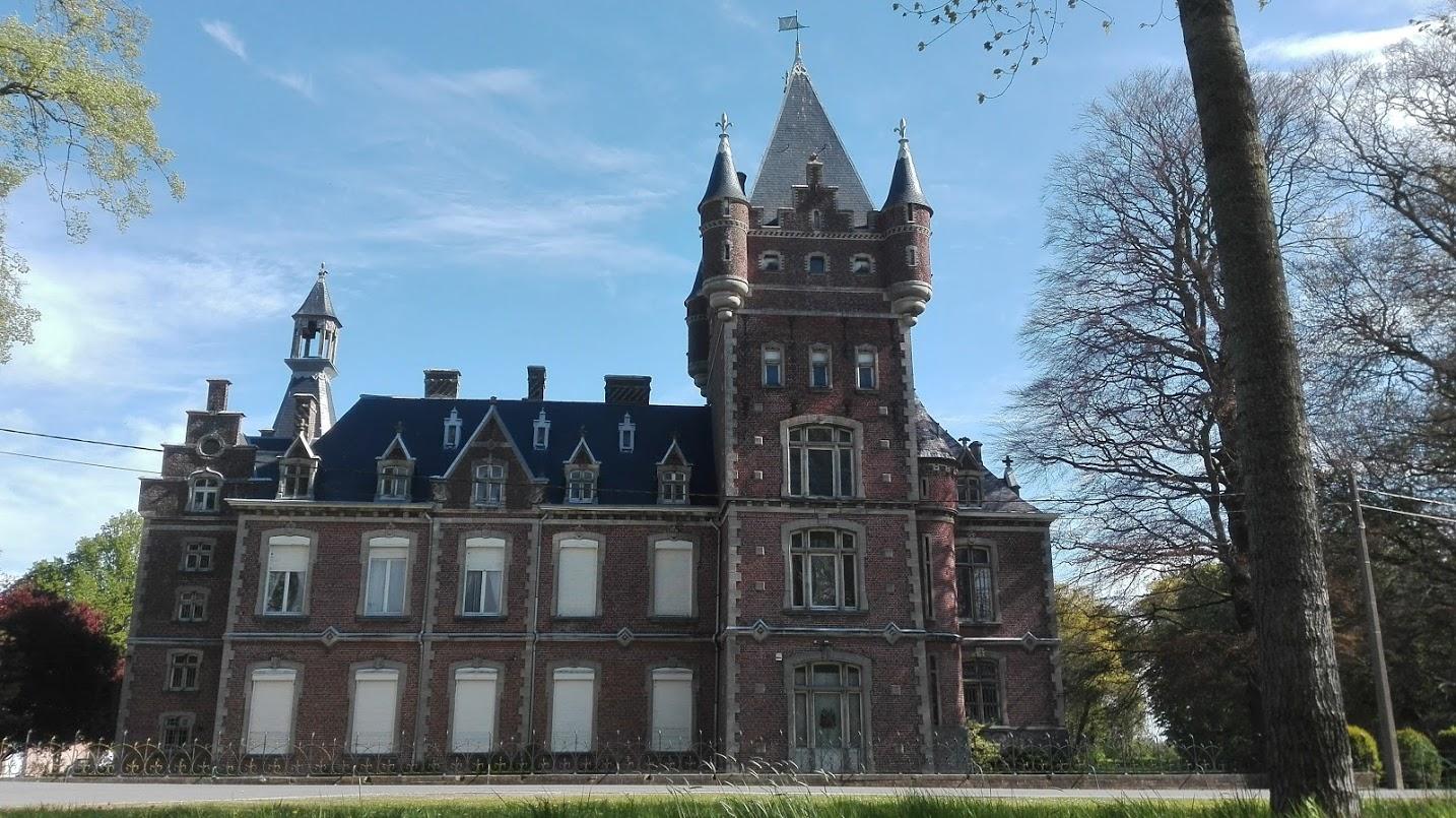 Le chateau de louvignies