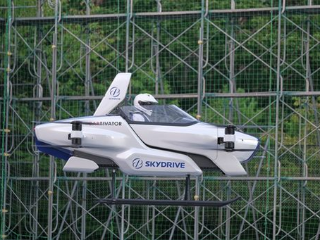 Flying cars could be in the skies within four years as Japan launches air taxi flights