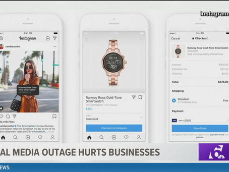 Facebook, Instagram outages hurt small businesses