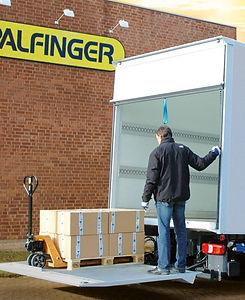 Platafoma Palfinger MBB C 500 VAN