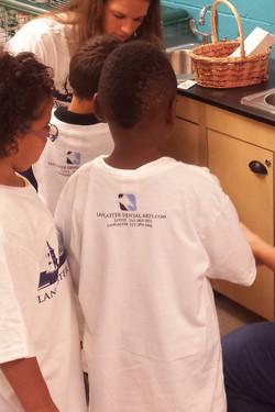 Camp Kids All Got T-Shirts!