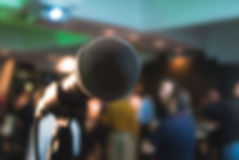a photo of microphone