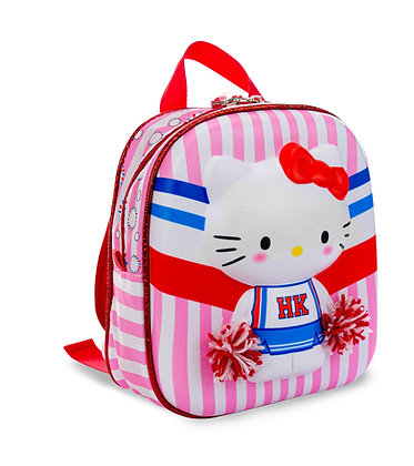 MOCHILA DE COSTAS P HELLO KITTY CHEERLEADER