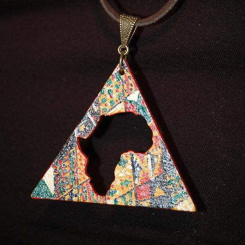 Kente Africa Necklace (Unisex)