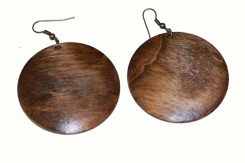 Stain Wood Earrings
