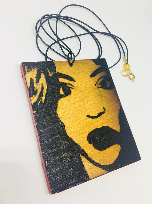 Wooden Beyonce Chain