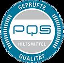 PQS Siegel - Zugelassener Hilfsmittellieferant