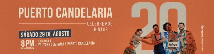 Puerto candelaria celebra 20 años el 29 de agosto con comfama