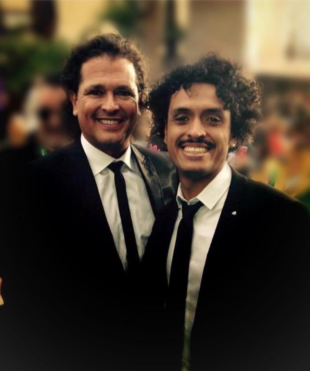 Juancho Valencia y Carlos Vives se encuentran en el Hay Festival Jericó