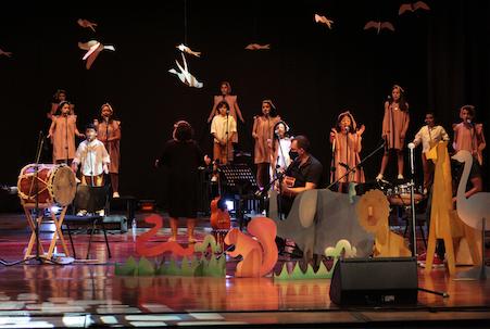 Viva la fiesta coro colegio de musica de medellin merlin producciones teatro colon