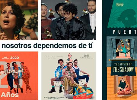 Puerto Candelaria presenta: ¡un disco secreto!