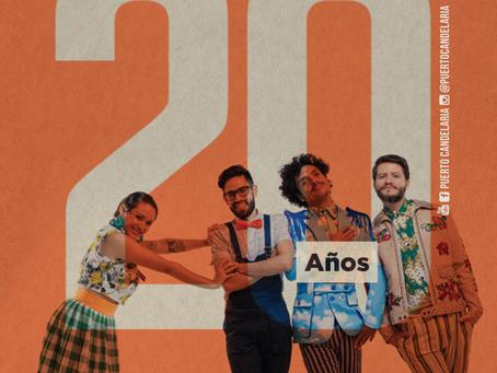 Puerto Candelaria celebra sus 20 años: un concierto, un disco y un video, hacen parte de la fiesta
