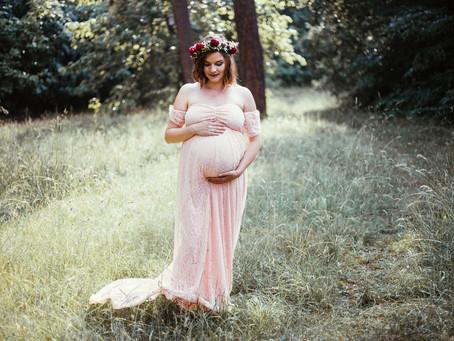Schwangerschaftsshooting mit Anika