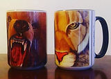 We will have 15 oz mugs! #moonhawkart  #