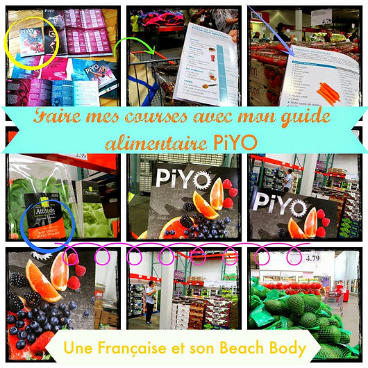 guide alimentaire PiYO