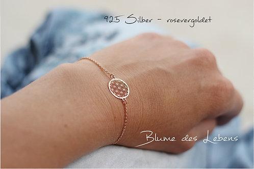 Armband - FLOWER - rosé