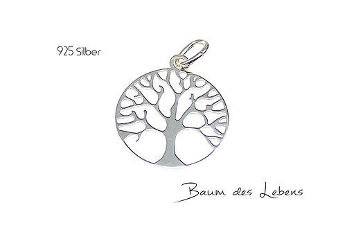 Anhänger - Baum des Lebens -silber