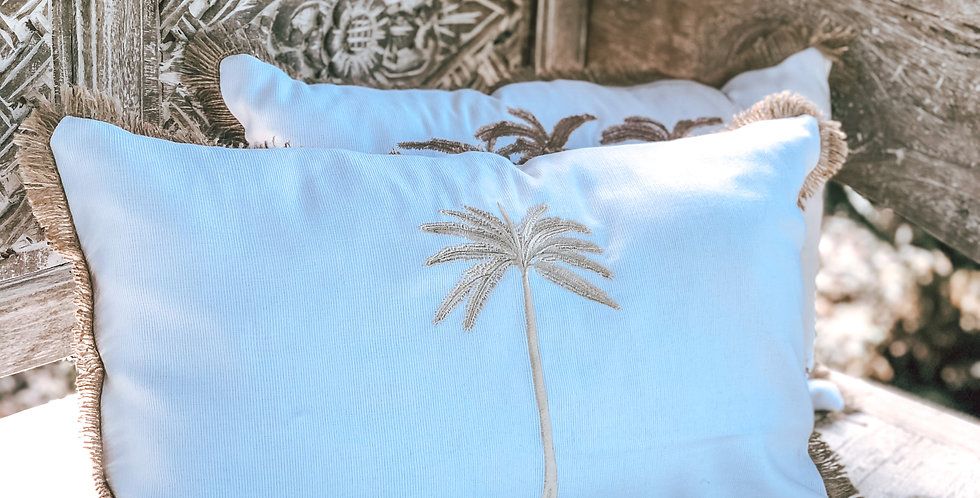 Sindu Single Palm Cushion Cover