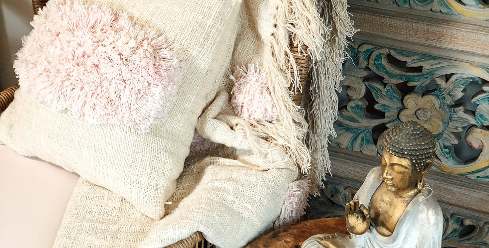 Ophelia Pink Cushion Cover