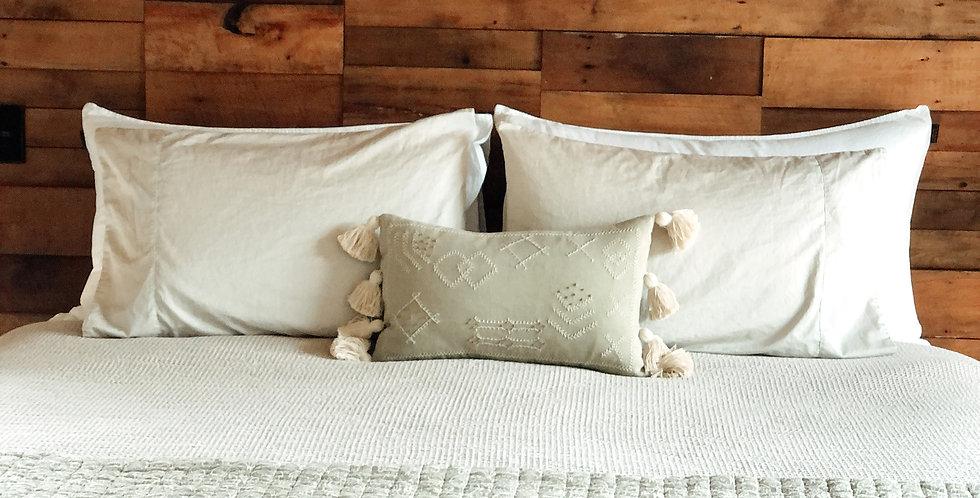 Purtri Pale Grey Cushion Cover