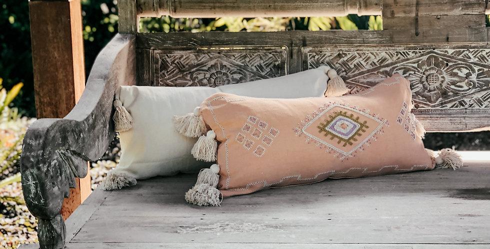 Puspa Cushion Cover - Peach