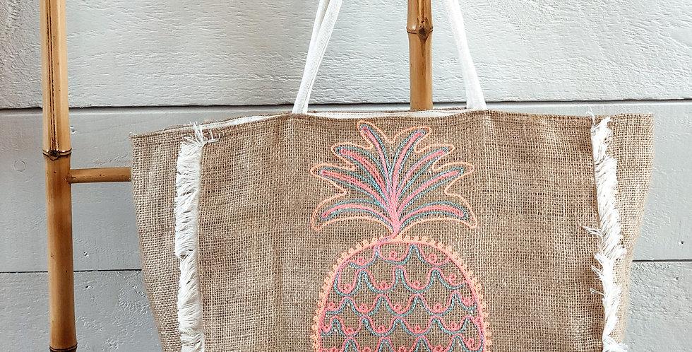 Pineapple Jute Bag