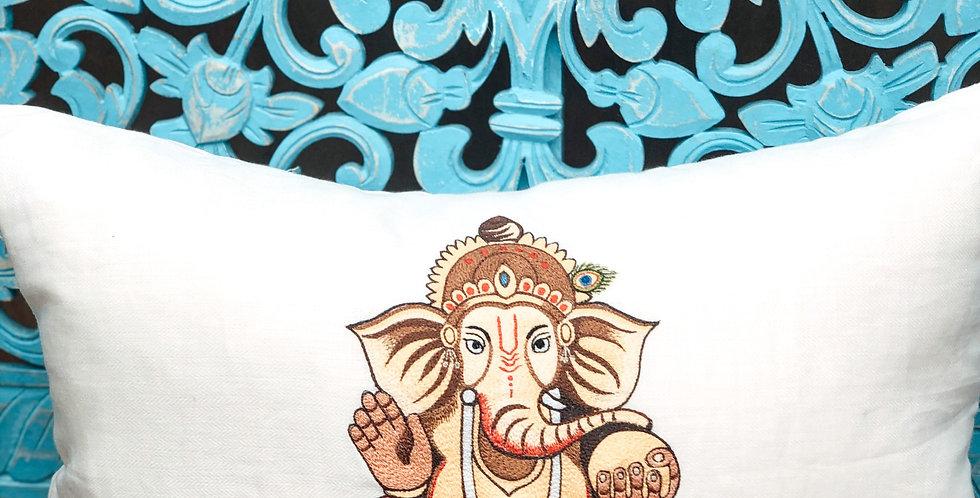 Ganesha Cushion Cover