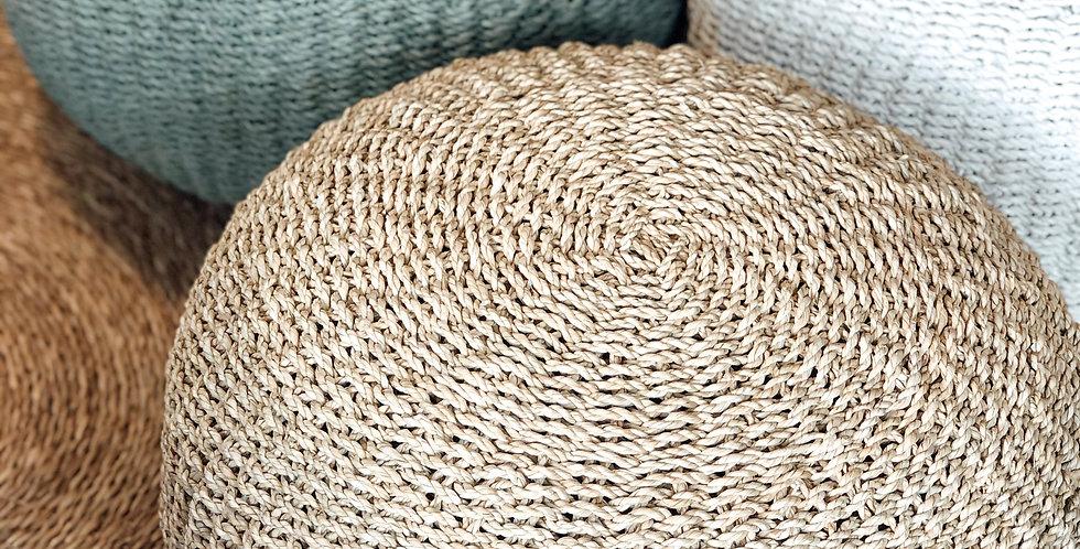 Seagrass Pouf