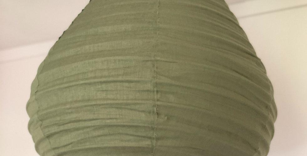 Green Linen Light Shade