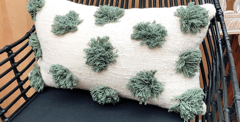 Opelia Green Cushion Cover