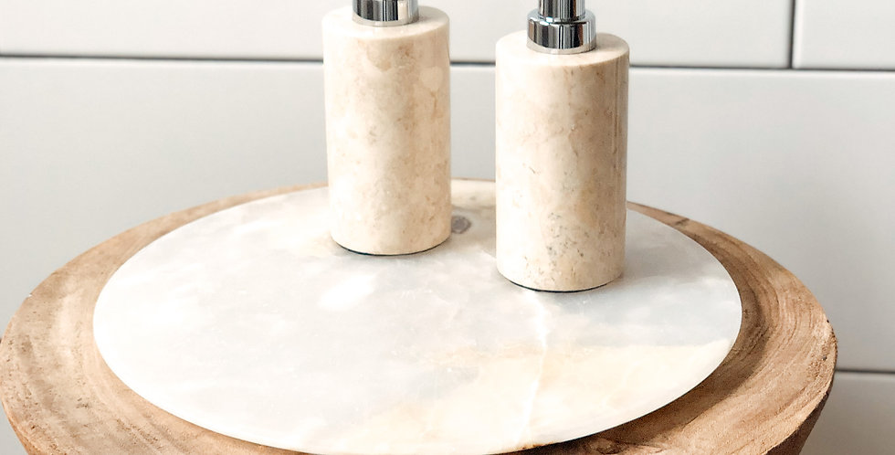 Marble Soap Dispensers
