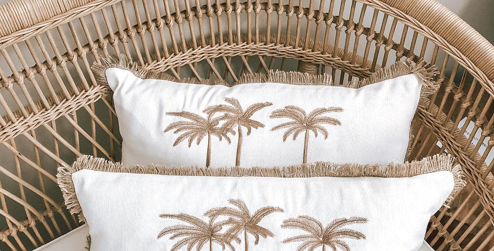 Sindu Triple Palm Cushion Cover