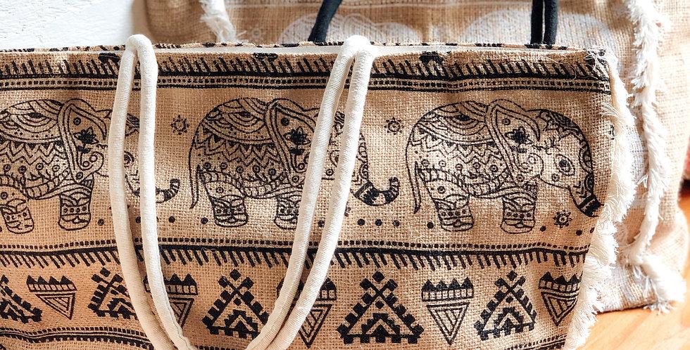 Elephant Jute Bags