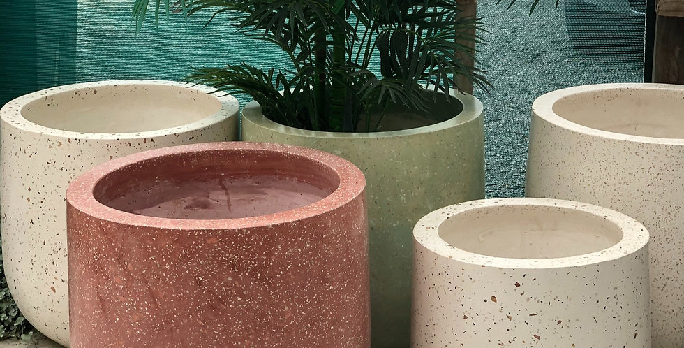 Terrazzo Pots - 400 high