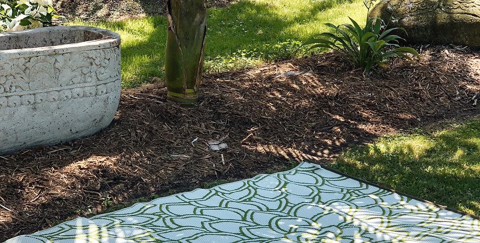 Eden Lime Outdoor Rug